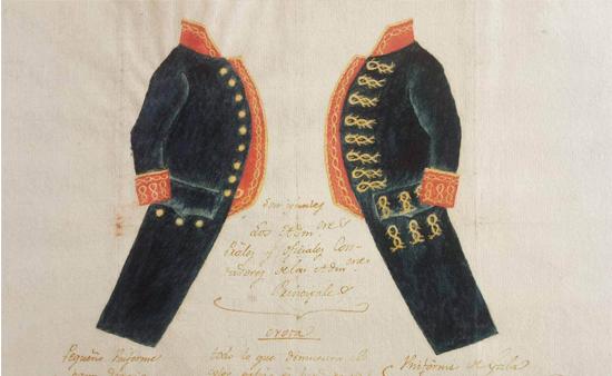 uniformes de diario y gala de Administradores Principales