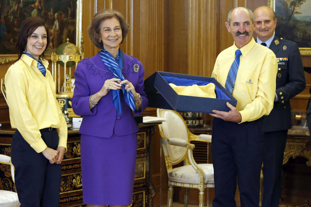Reina Doña Sofía de Grecia. Cartera Honoraria.
