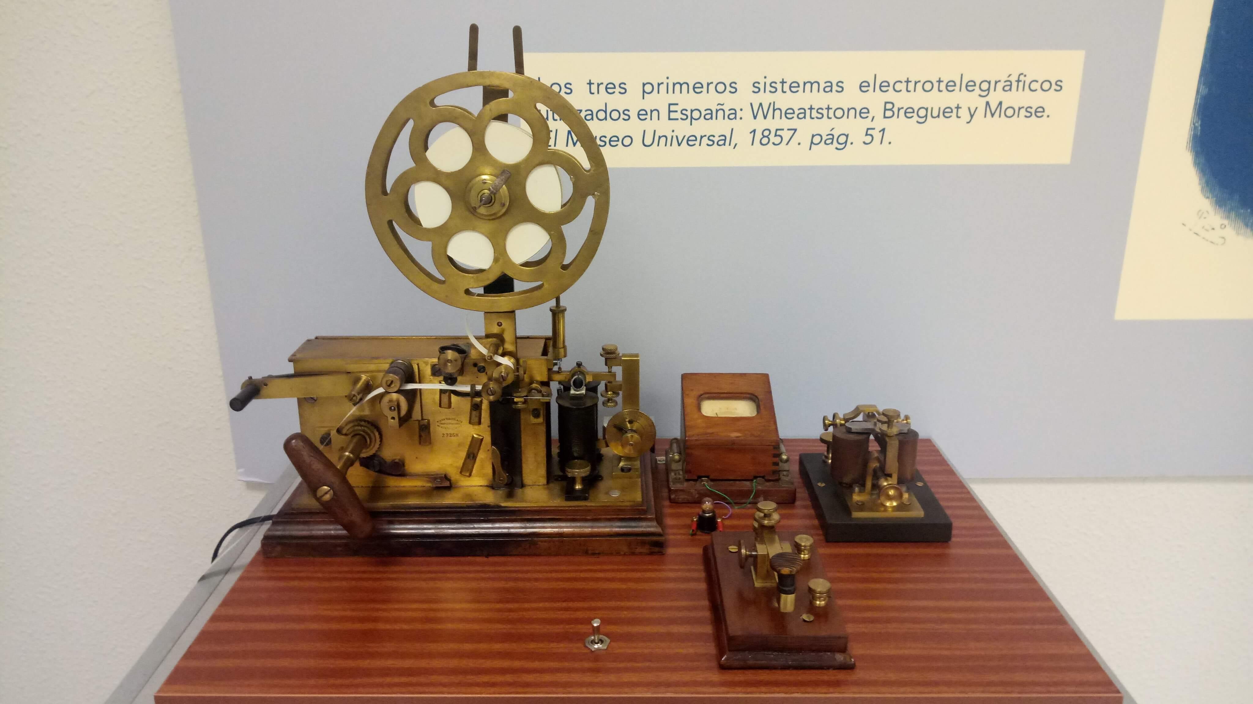Estación Telegráfica Completa.