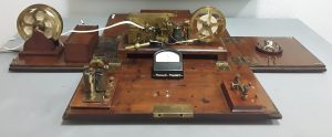 Estación telegráfica morse portátil