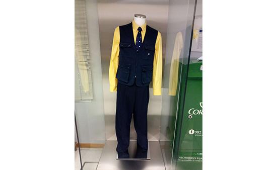 El uniforme de cartero urbano de 1999