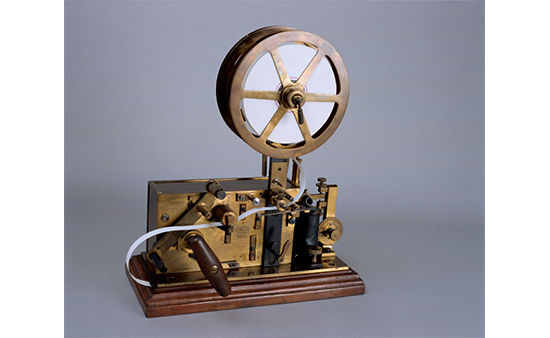 Receptor de cinta morse 1883