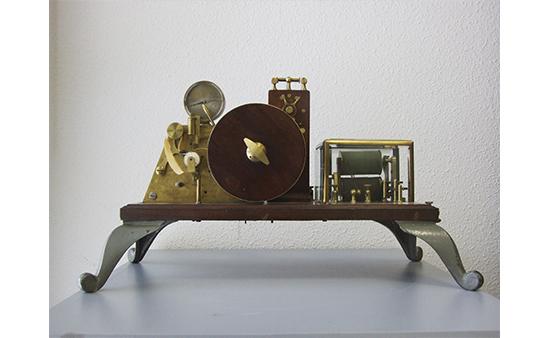 Receptor morse perforador 1870.