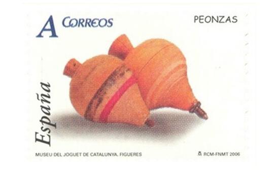 Sello dedicado al Museo del Juguete de Cataluña