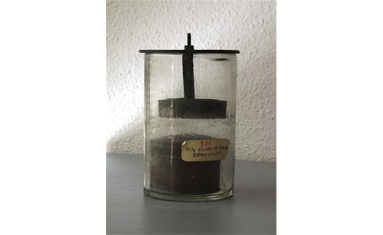 Pila de óxido de cobre