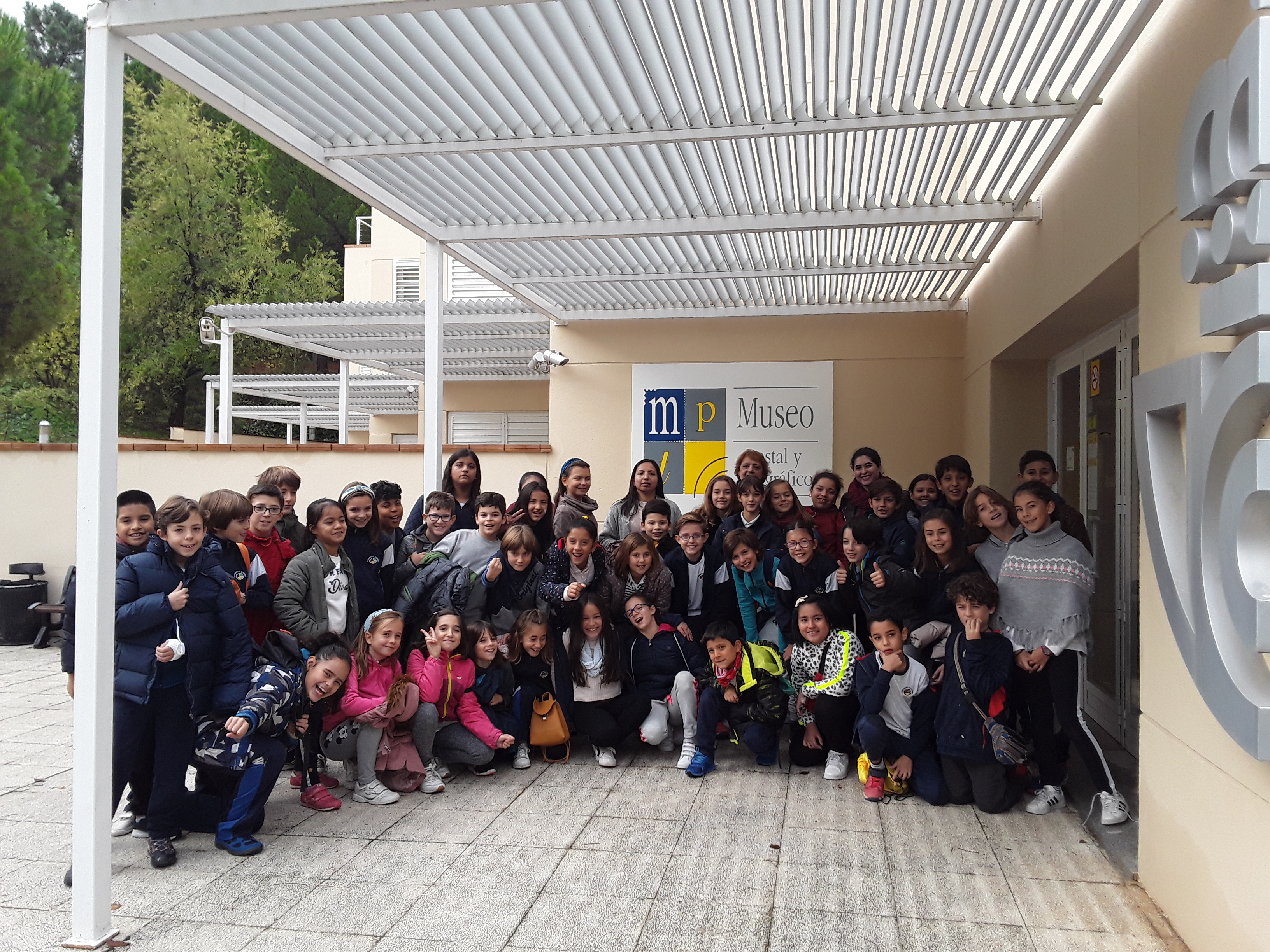 Visita del Colegio San Eugenio y San Isidro (S.E.S.I)