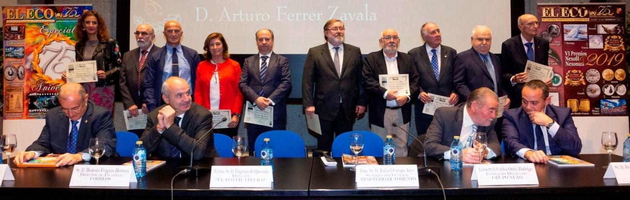 75 aniversario de EL ECO Filatélico y Numismático