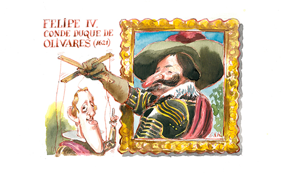 Felipe IV. Conde Duque de Olivares