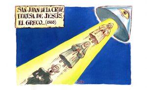 San Juan de la Cruz, Teresa de Jesús, El Greco…